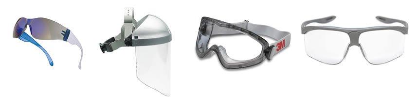 Equipos más pedidos de protección visual en MPSecoes (gafas y  pantallas de protección)