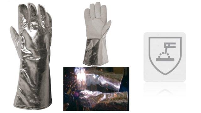 Ropa de protección utilizada durante el soldeo y procesos afines