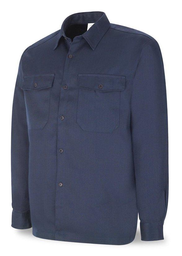 Camisa ignífuga y antiestática Algodón 200 gr. con costuras de Kevlar.