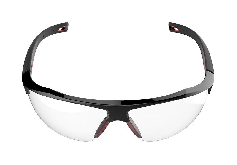 Lente curva de seguridad GALACTUS™, gafas de protección JSP