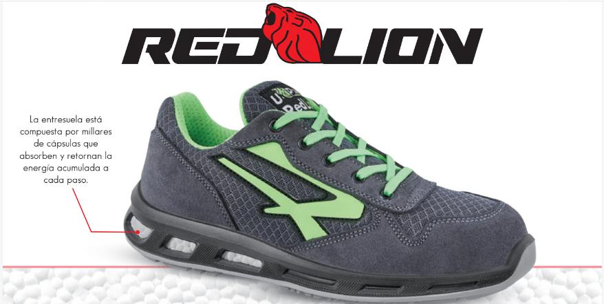 Red Lion, calidad máxima en calzado de seguridad que parecen zapatillas de deporte