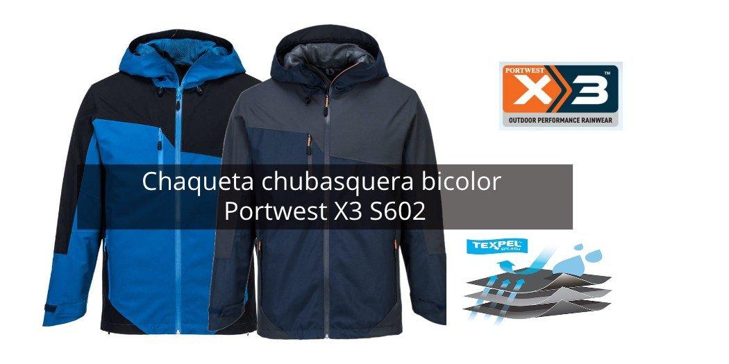 Chaqueta bicolor Portwest X3 S602