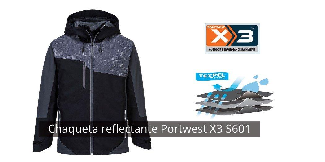Chaqueta reflectante Portwest X3 S601
