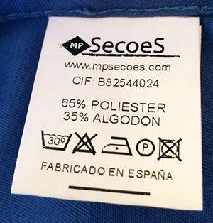 vestuario profesional personalizado mpsecoes fabricado en España