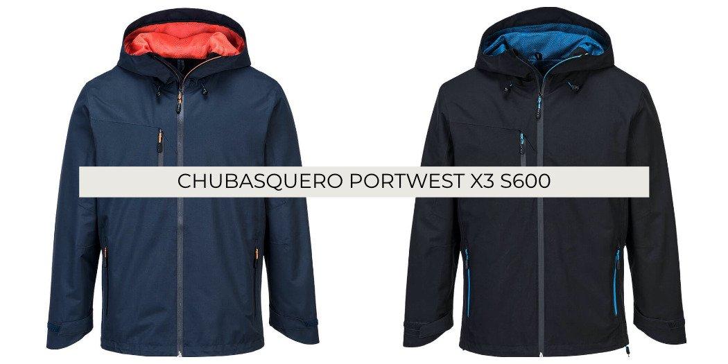 Chubasquero Portwest X3 S600