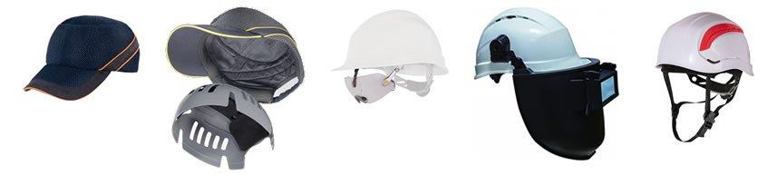 Equipos de protección de cabeza destacados en MP Secoes